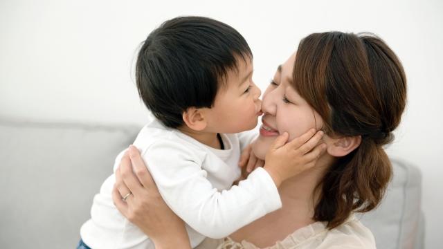 ママ、大好き!