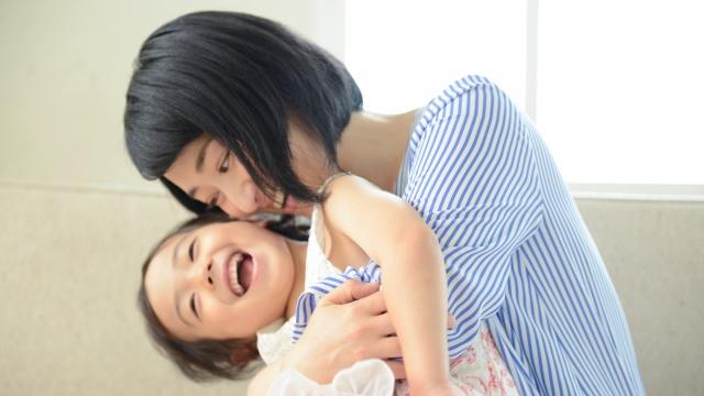 母と子ども